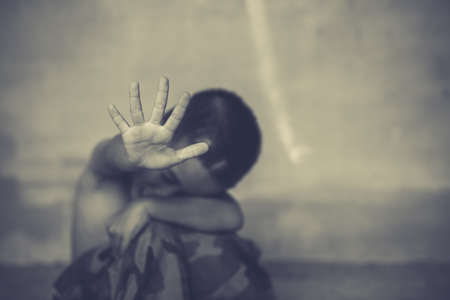 child stop abusing violence, violence, terrified , A fearful child.Stop abusing violence. violence, terrified , A fearful child.