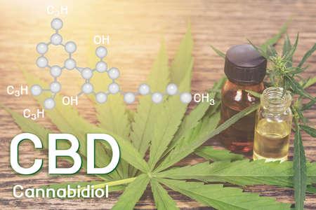 Cbd oil, Cannabis of the formula CBD.