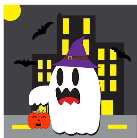 Halloween day vector.