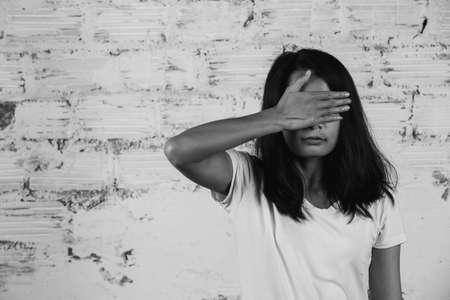 Fin de la violencia contra las mujeres, Alto a la violencia contra las mujeres, Acoso sexual Foto de archivo