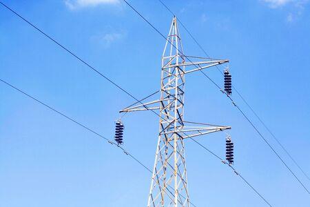 amp tower: High voltage power pylon