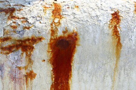 chipped paint: Chipped Paint On Rusty Pipe Metal