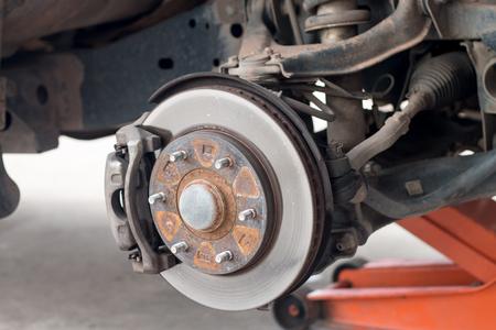 absorber and wheel car repair