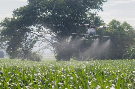 Agriculture drone for smart farm Foto de archivo
