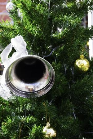 mas: bell decorat for x mas Stock Photo