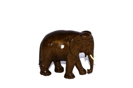 isolé elephan de bois pour décorer