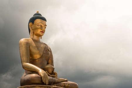 buda: Buda Dordenma estatua gigante de Buda, Thimphu, Bhut�n