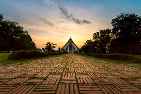 Wiharn Phra Mongkol Bophit, Ayutthaya, Thailand photo