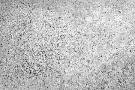 Old cement or concrete outdoor wall with stains and moldy for raw vintage background and texture.