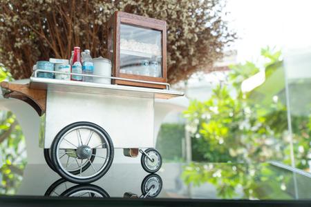 Dollhouse miniature - handmade Thai vintage coffee shop and Baked Bread