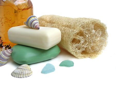 Household items for cleanliness photo