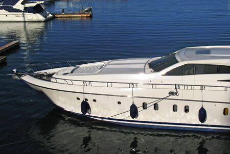 Docked boat in port Stock Photo - 2707198