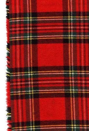 Rouge à carreaux écossais