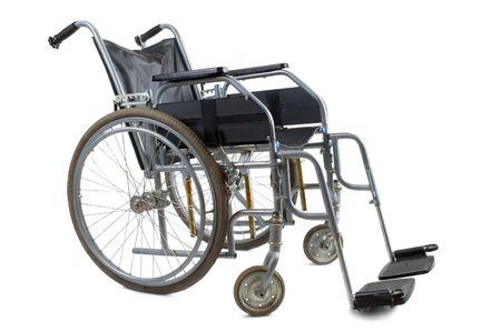 Wheelchair on a white background Stock Photo - 4324575