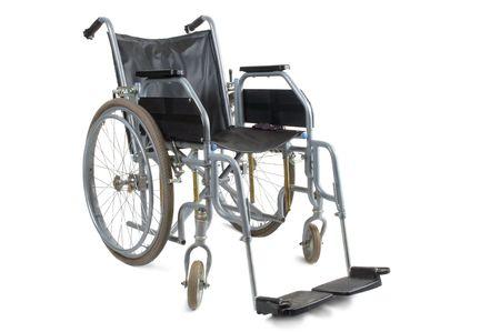paraplegic: Rolstoelen op een witte achtergrond