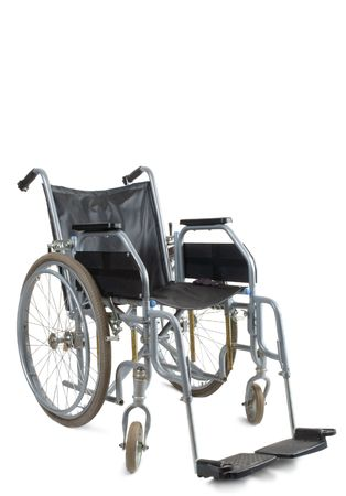 Wheelchair on a white background Stock Photo - 4742496