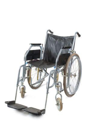 Wheelchair on a white background Stock Photo - 5403049
