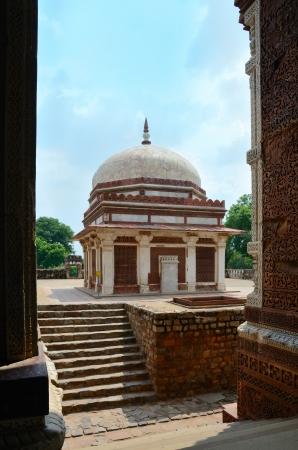 quitab: Monument in archeaological complex Quitab Minar in Delhi, India Editorial