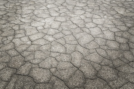 cracked earth: Dead desert with detail of cracked earth