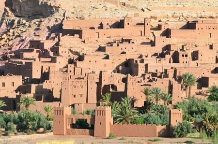 nazareth: Ait-Ben-Haddou Kasbah in Morocco, Africa. Was built in 11th. Jesus of Nazareth, The Mummy, Gladiator, Alexander, Prince of Persia and others films have been shot there.
