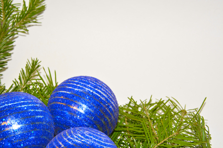 new years: New years Eve and Christmas background Stock Photo