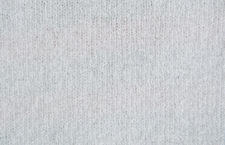 tejido de lana: La textura de la tela de lana blanca Foto de archivo