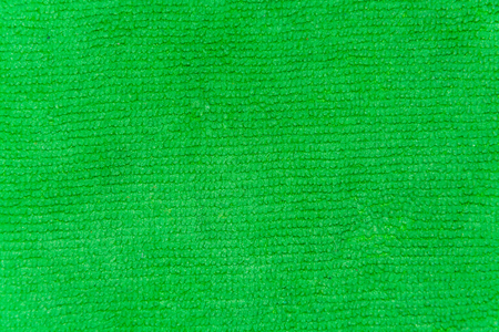 terry: bright green terry cloth closeup