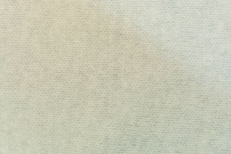 woolen: white woolen fabric closeup with patterns Stock Photo