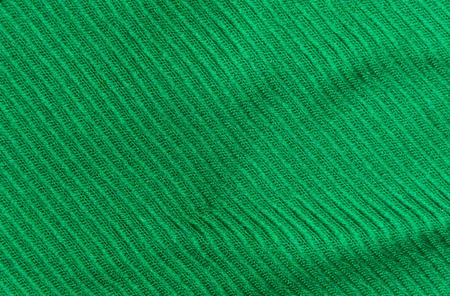 woolen cloth: Diagonal texture of green thick woolen cloth