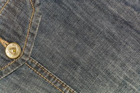 Hintergrund grau Denim mit einer Tasche