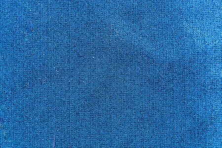 linen fabric: Blue linen fabric for background Stock Photo