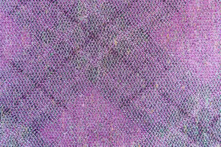 Abstract purple knitted fabric for background