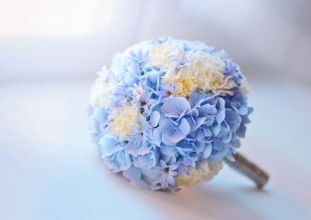 hyacinths: Bridal bouquet Stock Photo