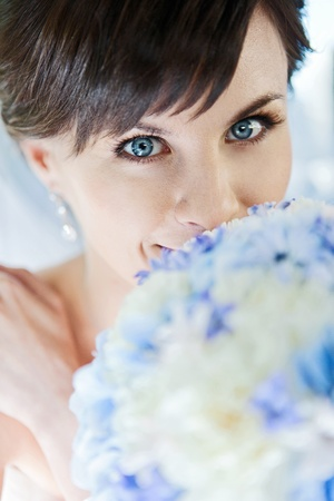 Beautiful bride Stock Photo - 12549110