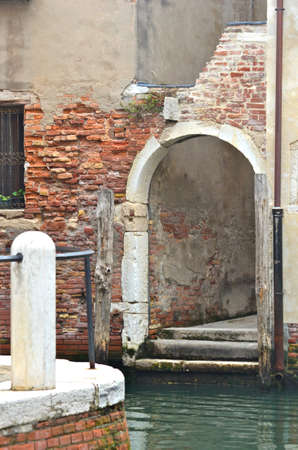 archways: Crumbling archways, Venice