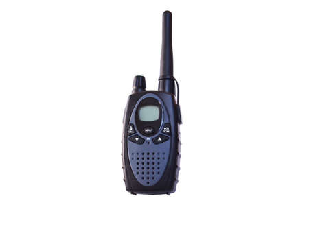 walkie: Walkie talkie Stock Photo