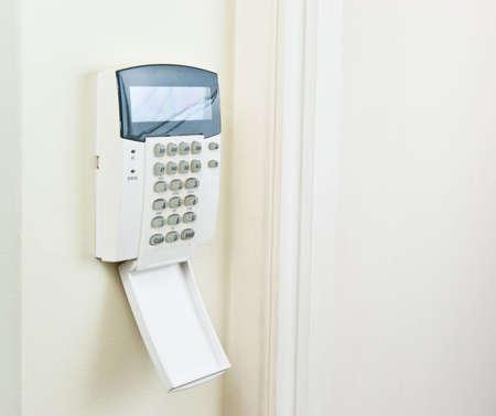 Alarm paneel om het huis