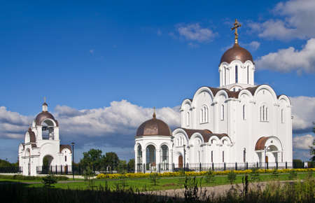 New orthodox church of the Icon of the Mother of God  Quick to Hearken  in Tallinn, Estonia photo