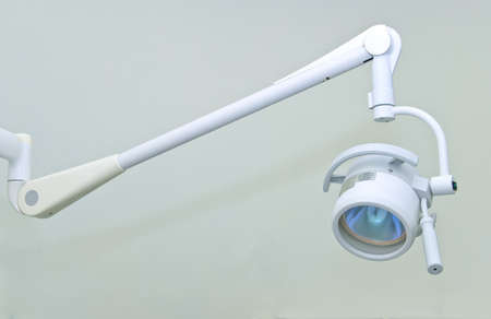 operative: Lighting in surgery room in hospital Stock Photo