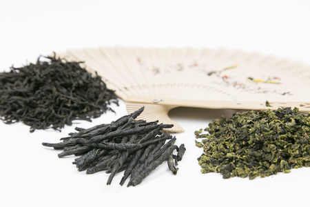 Different kinds of Chinese tea