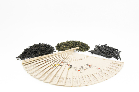 loose leaf: Different kinds of Chinese tea