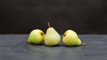 Fragrant handmade soap in the form of juicy pears.