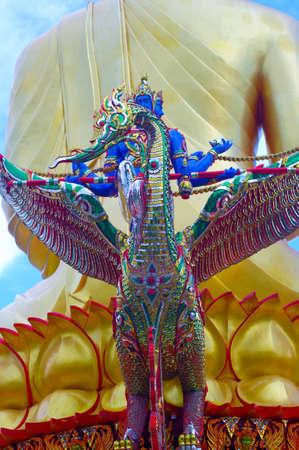 godliness: Buddha and swan