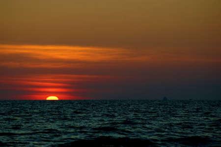 Sunset at sea Stock Photo - 17725542