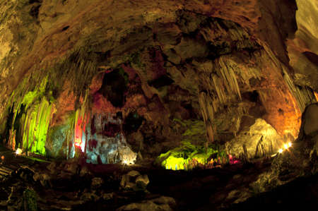 Caving in Thailand