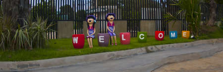 Landscaping welcomes male and female dolls