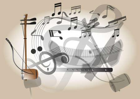 instrument practice: Thailand fiddle musical instrument