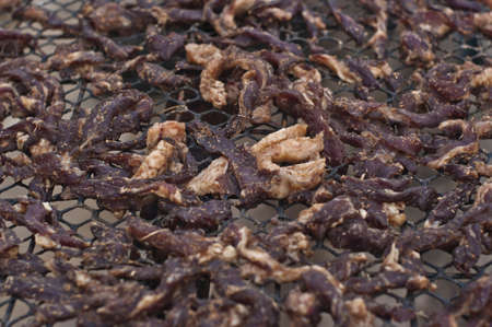 preservation: Thai Fried Sun Dried Beef,  Preservation