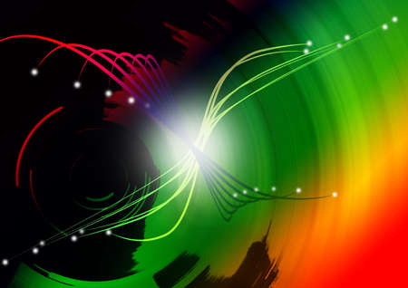 Illustration of colored abstract background