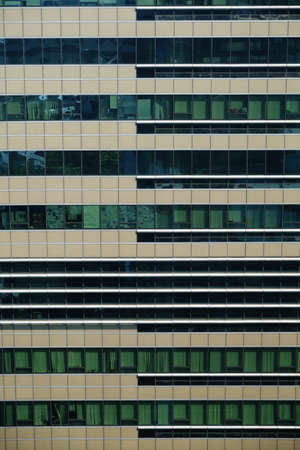 windows of office buildings, cool business